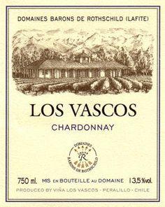 Los Vascos, Chardonnay | Domaines Barons de Rothschild (Lafite) > Other Estates > Viña Los Vascos. Delicious!