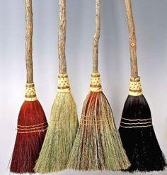 handmade corn brooms