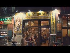 Madrid, Spain: Tapas Tango - YouTube