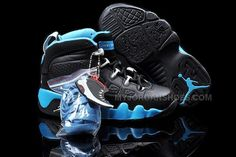 newest collection 6916b c0a0a Cheap Nike Air Jordan 9 Kids Black Blue, Price   79.00 - Jordan Shoes,Air  Jordan,Air Jordan Shoes