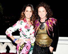 Coco Brandolini d'Adda and Lisa Eisner