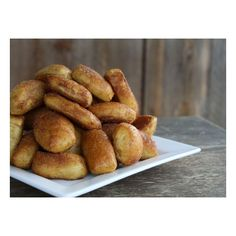 Cinnamon Sugar Soft Pretzel Bites featuring and polyvore,