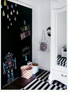 Inspirational Chalkboard Paint for Kids Room