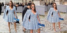 Marjorie Harvey Slays in Christian Dior During Paris Fashion Week