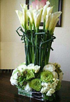 Table Flower Arrangements, Wedding Arrangements, Table Flowers, Modern Floral Design, Flora Design, Art Floral, Hotel Flowers, Corporate Flowers, Japanese Flowers