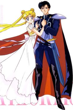 Moon Princess Serenity and Prince Endymion