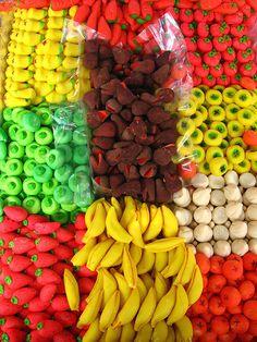 Dulces Mexicanos, Frutitas de Mazapan.