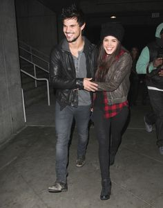 Taylor Lautner & Girlfriend Spotted Holding Hands At Jay Z Concert %u2014�Pic