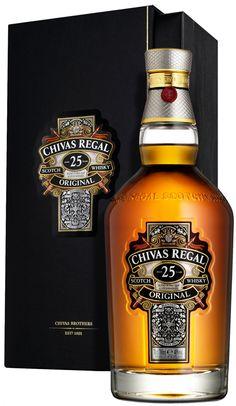 Whisky Chivas Regal - edición especial 25 años