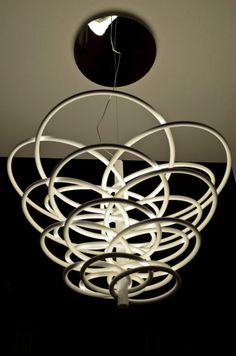 Flos,Designer Rod Gilad's modern chandelier for Flos, named 2620 LEDs.