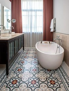 We offer the highest quality cement tiles at the most competitive rates with fast, reliable service and the best customer care for your cement tile order. Bathroom Renos, Bathroom Interior, Small Bathroom, Master Bathroom, Cosy Bathroom, Bathroom Ideas, Cement Tiles Bathroom, Bathroom Flooring, Tile Flooring