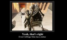 You get a statue, You get a statue, everybody gets a statue...