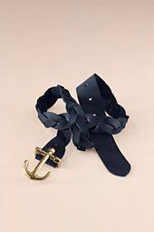 Womens Anchor Buckle Belt