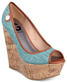 G by Guess Women's Shoes, Tinaa Platform Wedges - Shoes - Macy's. decisions decisions