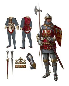 ArtStation - 14th century duke of Lancaster , Beth Hobbs