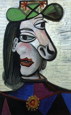 fille avec un bateau (maya picasso (Pablo Picasso