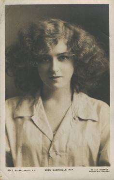 Gabrielle Ray (28 April 1883 - 21 May 1973), was an English stage actress, dancer and singer, best known for her roles in Edwardian musical comedies. She was born Gabrielle Elizabeth Clifford Cook in Cheadle, Stockport, England. After an unsuccessful marriage, however, she never recovered the fame that she had enjoyed. She spent many of her later years in mental hospitals.