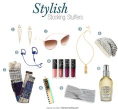 Stylish Stocking Stuffers for Her - Christmas, Valentines Day or Her Birthday!