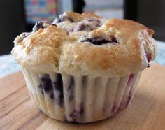 ATK Blueberry Muffins (yogurt) Giant Hunka Blueberry Muffins | The Butcher's Block