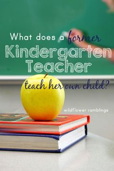 our kindergarten curriculum plans - Wildflower Ramblings