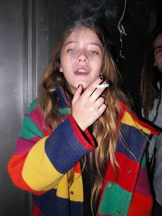 Teresa Oman By Tracy bailey Jr. Pretty People, Beautiful People, Teresa Oman, Estilo Grunge, Girl Smoking, Mode Vintage, Tumblr Girls, Looks Cool, Belle Photo