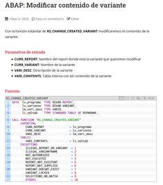 Con la función estándar de RS_CHANGE_CREATED_VARIANT modificaremos el contenido de la variante. Te Quiero