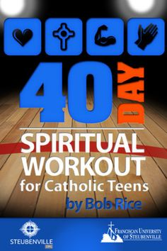 40 Day Spiritual Workout for Teens (iPhone/iPod App) Apps For Teens, Workouts For Teens, Activities For Teens, Catholic Confirmation, Catholic Kids, Religious Education, Youth Ministry, Bible Lessons, Lent