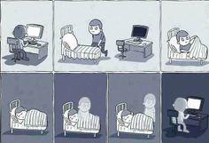 Las noches de los programadores #Humor xD jajaja