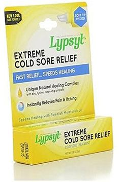 LypSyl Extreme Cold Sore Relief Lip Balm 0.28 oz (Pack of 12) * For more information, visit image link.