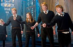TOP TEN REDHEADS  The Weasleys ~ The ginger-haired wizarding family's home is a sanctuary for Harry Potter, the orphaned protagonist of J.K. Rowling's best-selling novels.Readers — and viewers of the movies spawned by the books — have to put up with Harry's frequent bouts of melancholy and self-pity over not having a family of his own, but the Weasleys more than make up for it.