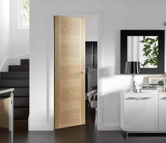 Are you looking for modern interior oak doors? Check our selection of contemporary internal oak doors available from stock. Oak Fire Doors, Oak Doors, Wooden Doors, Glass Panel Door, Glass Front Door, Glass Panels, Front Doors, Entry Doors, Front Entry