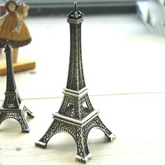 2015 New New 15cm Home Decoration Eiffel Tower Metallic Model Bronze Color Iron Romantic 1N15 594V