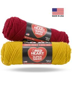 Our best-selling yarn. Traditional hand, maximum wash performance, and no-dye-lot solids make it ideal for afghans, sweaters, accessories and more.