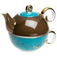 Blue Saphyre Tea For One