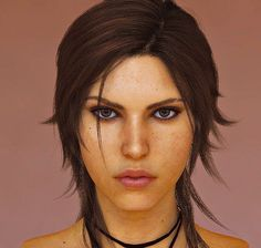 It's like looking at a real person... even more so for Rise of the Tomb Raider...