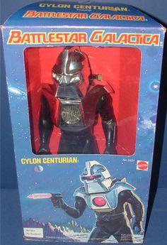 MATTEL: 1978 Battlestar Galactica Cylon Centurian Action Figure