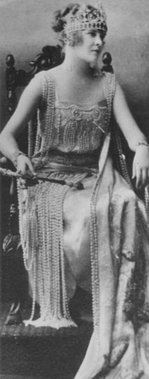 1922, Eugenia Taylor: Queen of the Court of Aladdin.