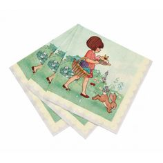 """Now wipe your sticky paws, Boo!"" said Belle. 20 x 3 ply party napkins, printed with wonderful Mandy Sutcliffe illustrations from Belle & Boo and the Birthday Surprise. Perfect to mop-up any spills or crumbs Online Party Supplies, Kids Party Supplies, Party Napkins, Napkins Set, Belle Y Boo, Happy Birthday Girlande, Beautiful Fairies, Kids Boutique, Educational Toys For Kids"