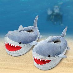Hausschuhe Hai