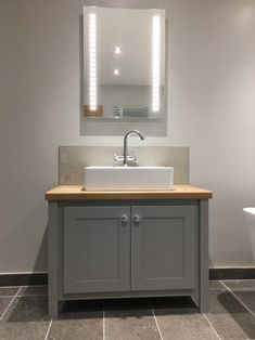 Buy the Manor House Grey - Single Vanity Unit from Aspenn Furniture today. Bespoke Furniture including bespoke vanity units, bespoke furniture and more. Counter Top Sink Bathroom, Bathroom Sink Units, Bathroom Organisation, Small Downstairs Toilet, Small Toilet Room, Downstairs Bathroom, Cloakroom Vanity Unit, Sink Vanity Unit, Single Vanity Units