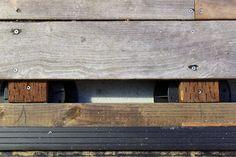 wood deck palette