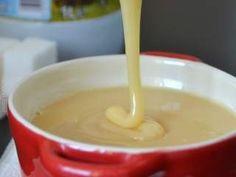recette facile lait concentré