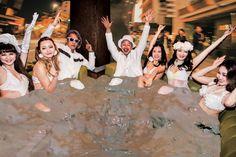 泡パの次はドロパ!?日本有数の干潟「有明海」の泥と佐賀名物や日本酒でひんやりした夏を ソラトニワ | soraxniwa