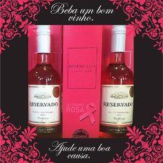 A Conha Y Toro está participando da campanha Outubro Rosa. Uma parte da venda do Reservado Zinfandel Rosé será destinada ao IMAMA-RS. Acesse: http://www.costibebidas.com.br/vinho_concha_y_toro_reservado_zinfandel_750ml/p