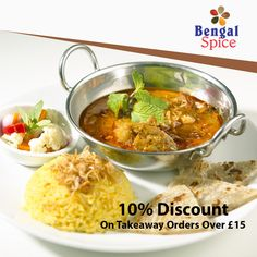 Bengal Spice, top-ranked Indian takeaway in Highbridge, offers delicious Indian food for you to enjoy. Our first-class service creates the unrivalled ambience for the perfect Indian cuisine experience, ensuring that all have the opportunity to enjoy the perfect cuisine. See the full menu and offers of this Indian Restaurant in Highbridge and select the best deal for you. Place your order now in just a few clicks. You can pay via cash or card. Order Takeaway, Dining Club, Restaurant Order, Indian Food Recipes, Ethnic Recipes, Food Items, Bengal, A Table, Desi
