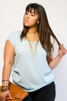 Classic Solid Woven Top