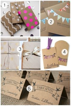 kraft paper + Mother's Day printable by smitten blog designs