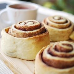 Cinnamon Rolls - warm, soft, simple and deliciously perfect as it is.