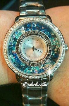 Watch with stardust and window frame. SparkleWithJennifer.OrigamiOwl.com