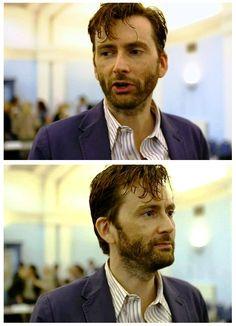 David Tennant as DI Alec Hardy in Broadchurch. - Still has fantastic hair! <3